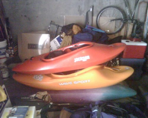 I can see how people develop a quiver of whitewater kayaks.