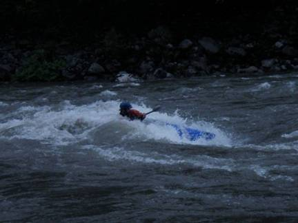 Brian Pernick on the Skykomish River