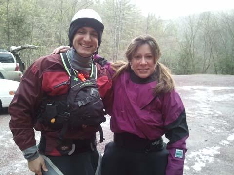 Kayaking the Lehigh River in December - Fun! 1
