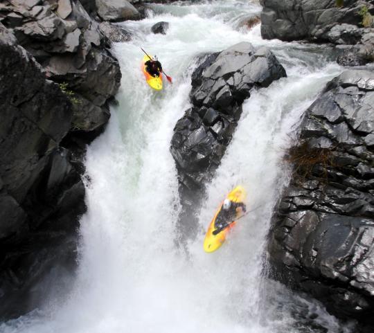 Team Pyranha's and Darin McQuoid's Posts on California's Royal Gorge 1