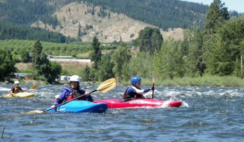 NWOC whitewater kayaking class photo