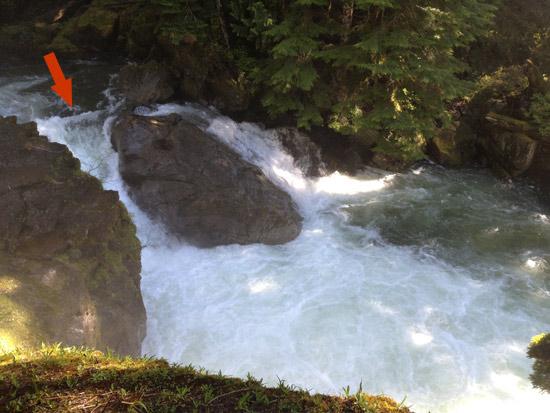 Upper Upper North Fork Skykomish Waterfall Run 4