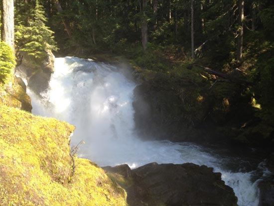 Upper Upper North Fork Skykomish Waterfall Run 3