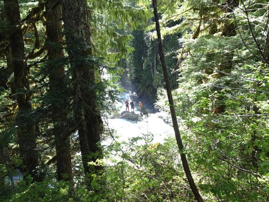 Upper Upper North Fork Skykomish Waterfall Run 2