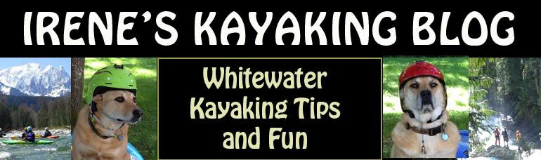 Irene's Kayaking Blog